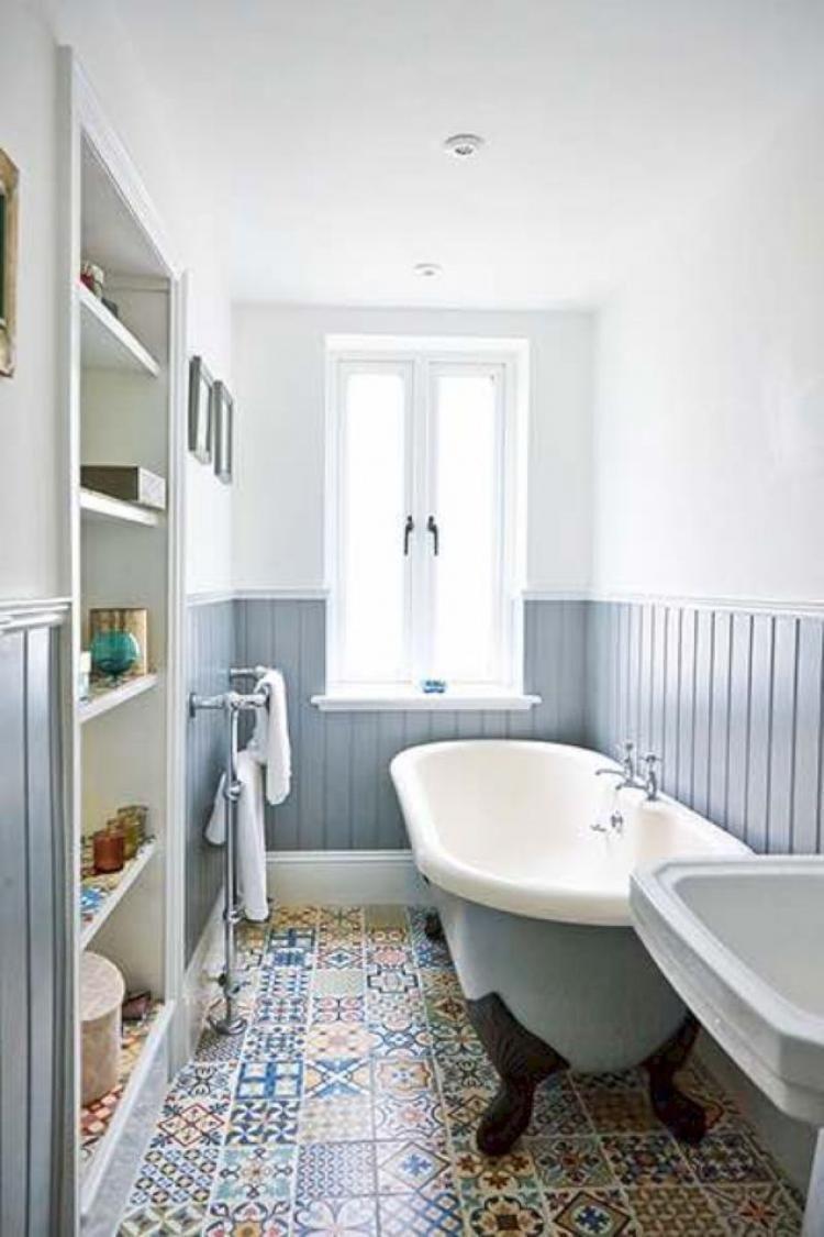 55 Gorgeous Classical Bathroom Design Ideas Small Bathroom Windowless Bathroom Apartment Renovation