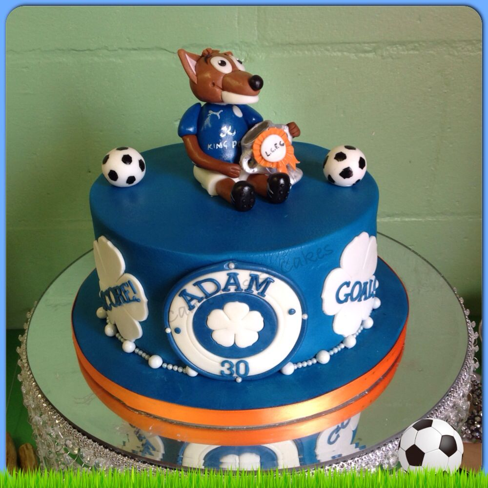 Leicester City Football Mascot Cake Leicester City FC Pinterest