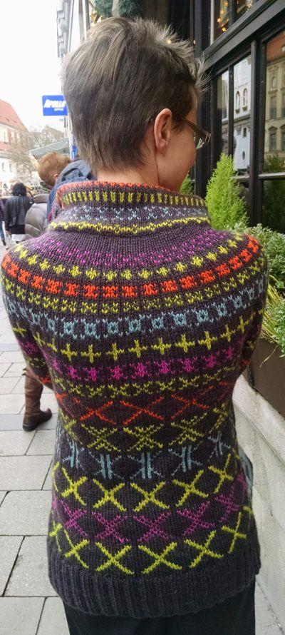 His Mark Cardigan Knitty Winter 2014 Knitting Pinterest