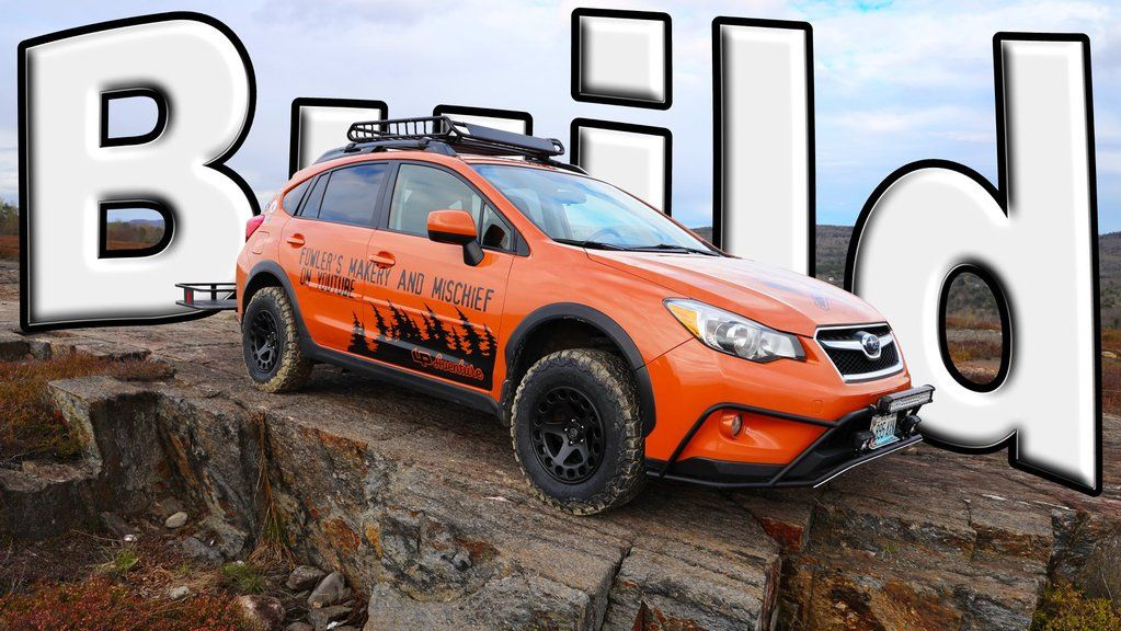 Makery And Mischief Adventure Mobile Subaru Xv Crosstrek In 2020 Subaru Crosstrek Subaru Subaru Outback Offroad