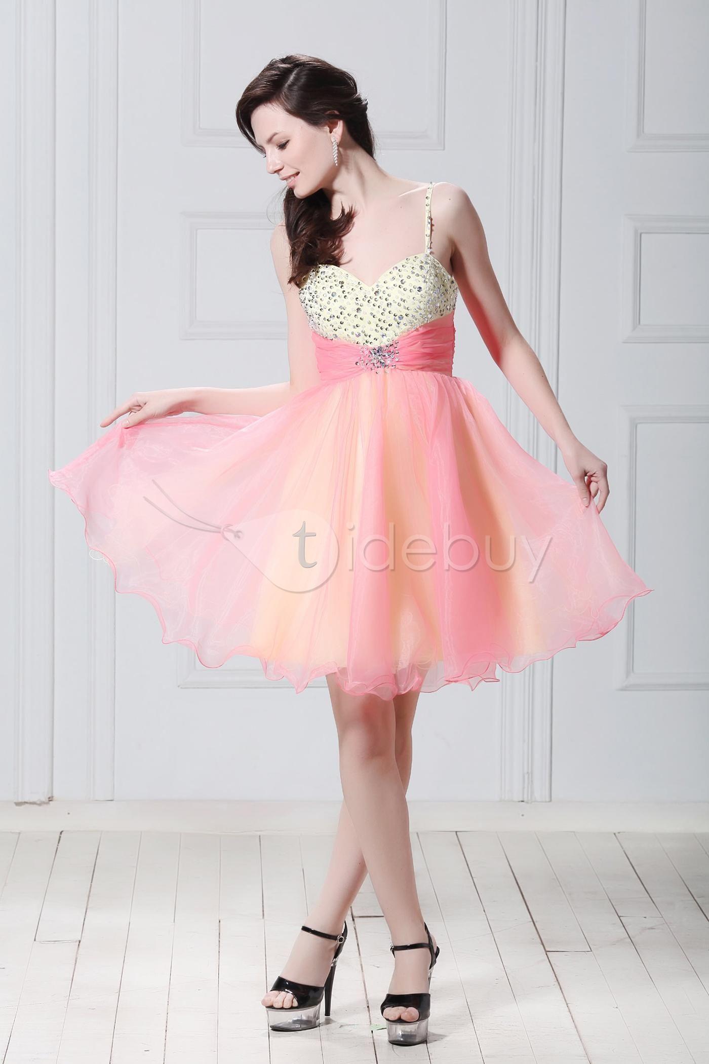 A Line Mini Length Spaghetti Neckline Luba S Homecoming Sweet Sixteen Dress Cute Prom Dresses Pink Dress Women Homecoming Dresses [ 2100 x 1400 Pixel ]