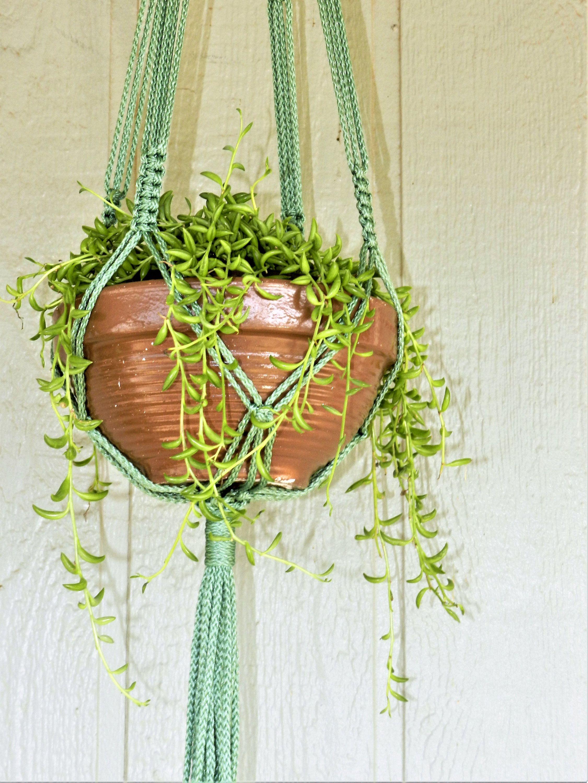 4Mm Polyolefin Cord,Macrame Plant Hanger,Macrame Plant Holder,Plant Hanger,Hanging Planter By