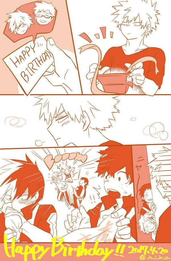 Bnha Happy Birthday Happy Birthday Meme My Hero Academia Fan Comic