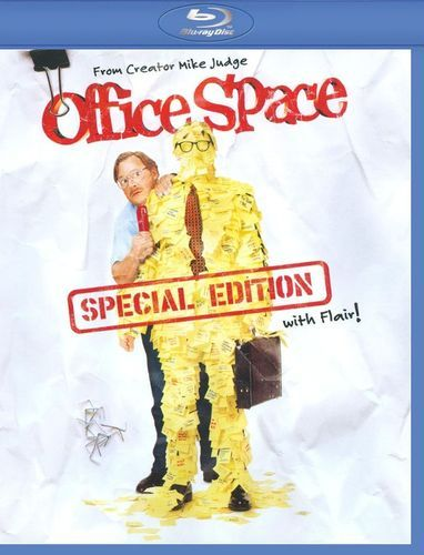 Office Space Ws Blu Ray 1999 Office Space Movie Mike Judge Ron Livingston
