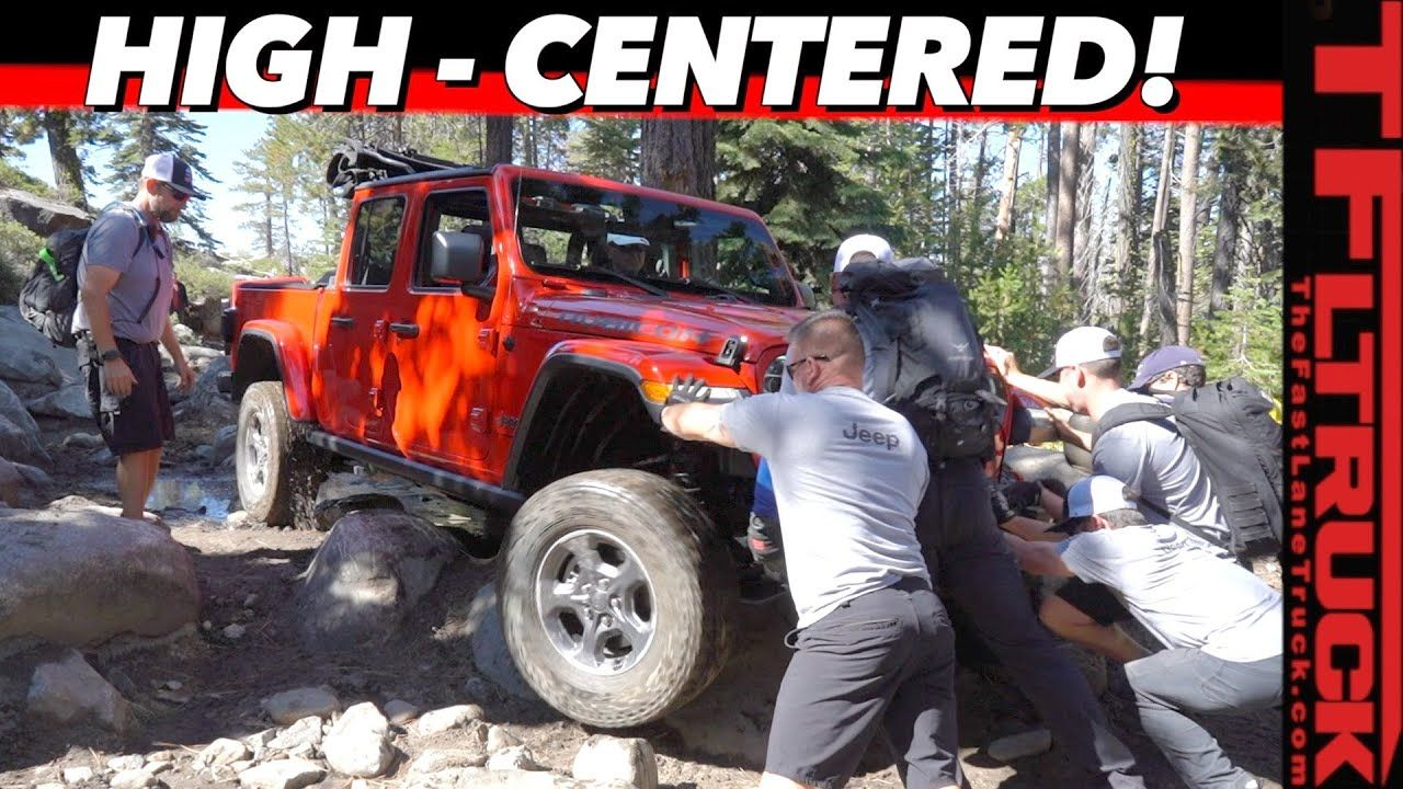 Jeep Gladiator Vs Rubicon Trail Can You Really Wheel A Long Truck Up Am
