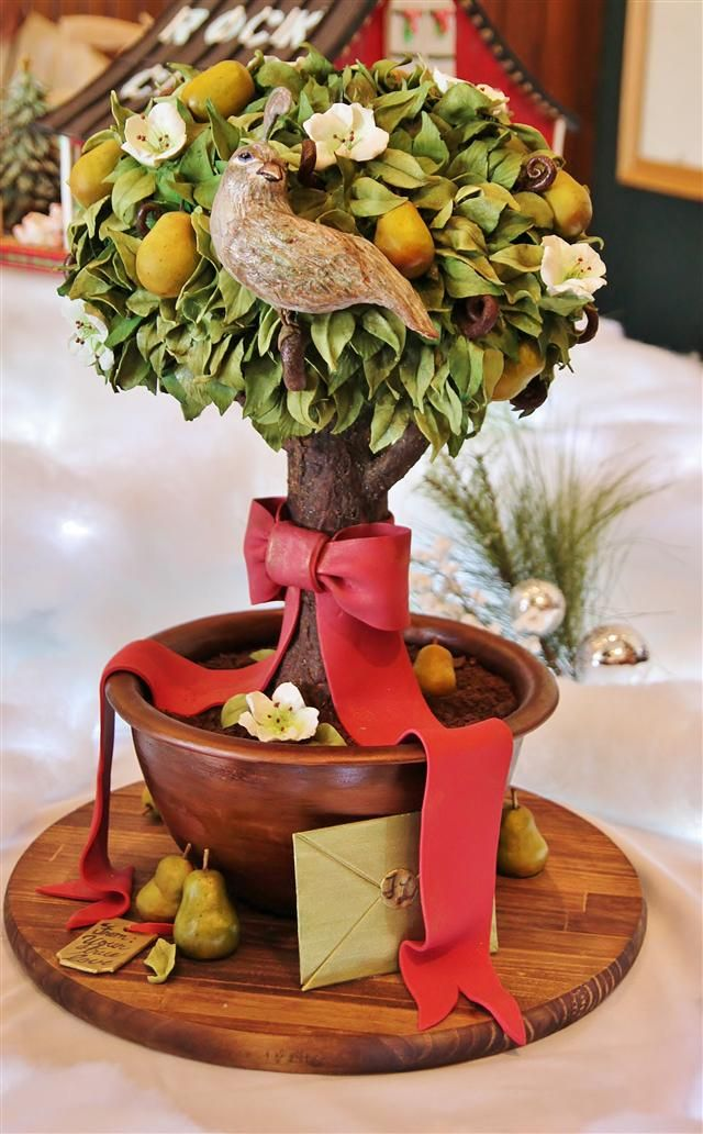 On the first day of Christmas my true love gave to me, a partridge in a pear tree. Wow!