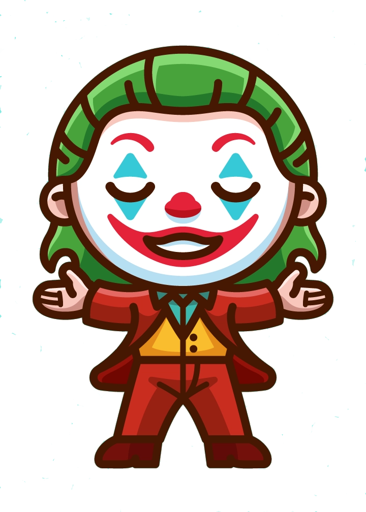 Stickers Car Decals Vinyl Decals Joker In 2020 Joker Cartoon Joker Drawings Joker Art Drawing