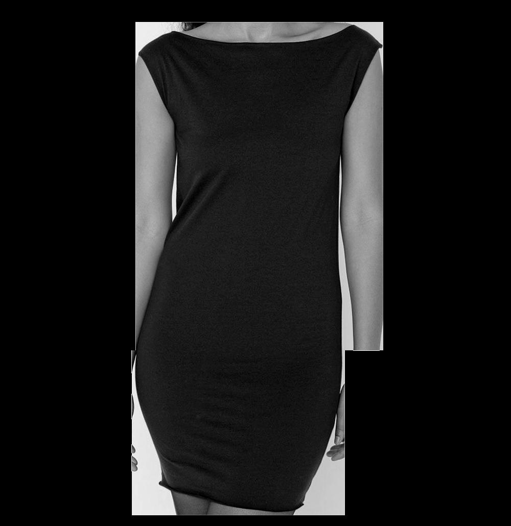 Schwarzes schlichtes Kleid Mockup  Schlichtes kleid, Kleidung und