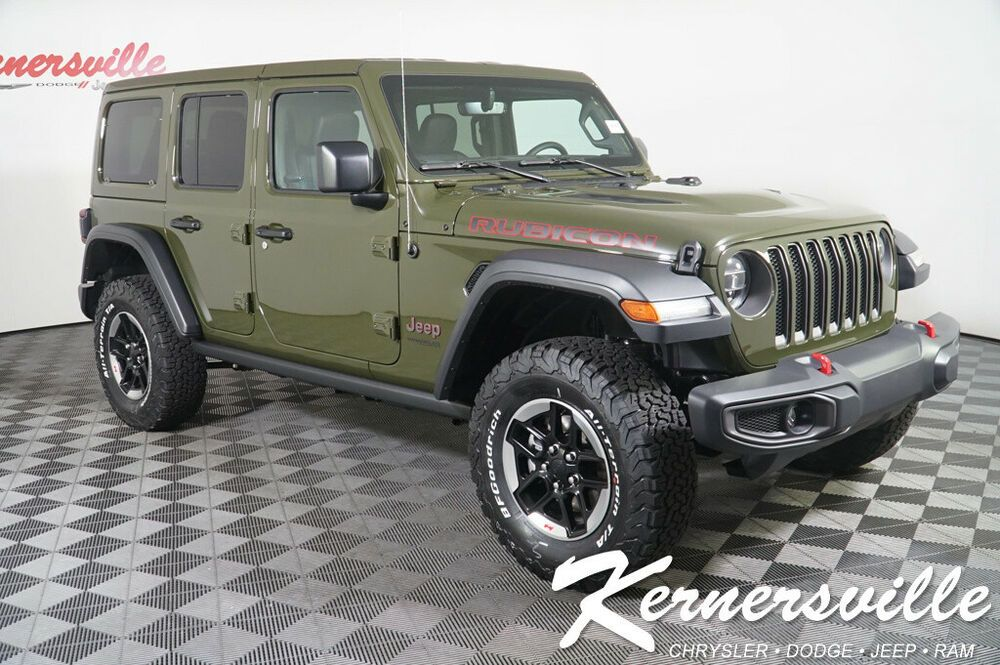 2020 Jeep Wrangler Rubicon 4WD V6 SUV Navigation Backup