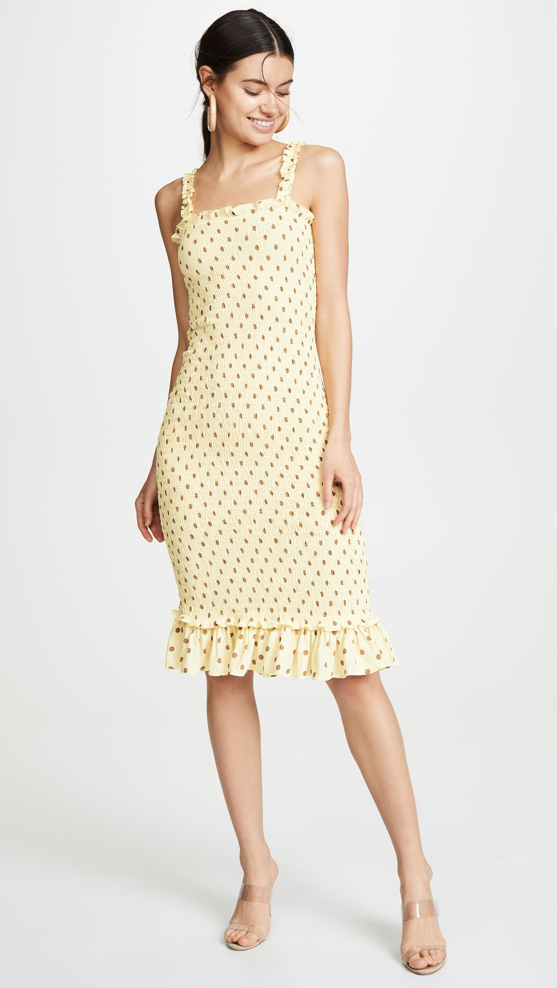4c26ff7405b FAITHFULL THE BRAND Nadine Midi Dress