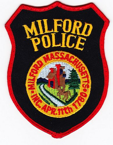 Ma Milford Police Department Police Police Patches Police Officer Requirements