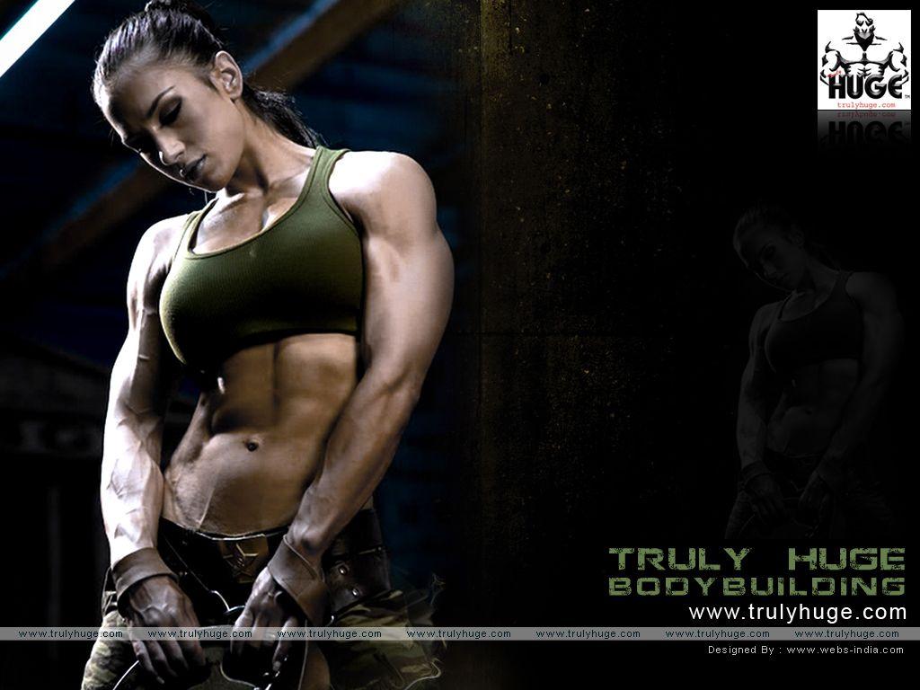 Female Bodybuilder Wallpaper Body Building Women Fitness Motivation Wallpaper Bodybuilding Workouts Gym images hd wallpaper download