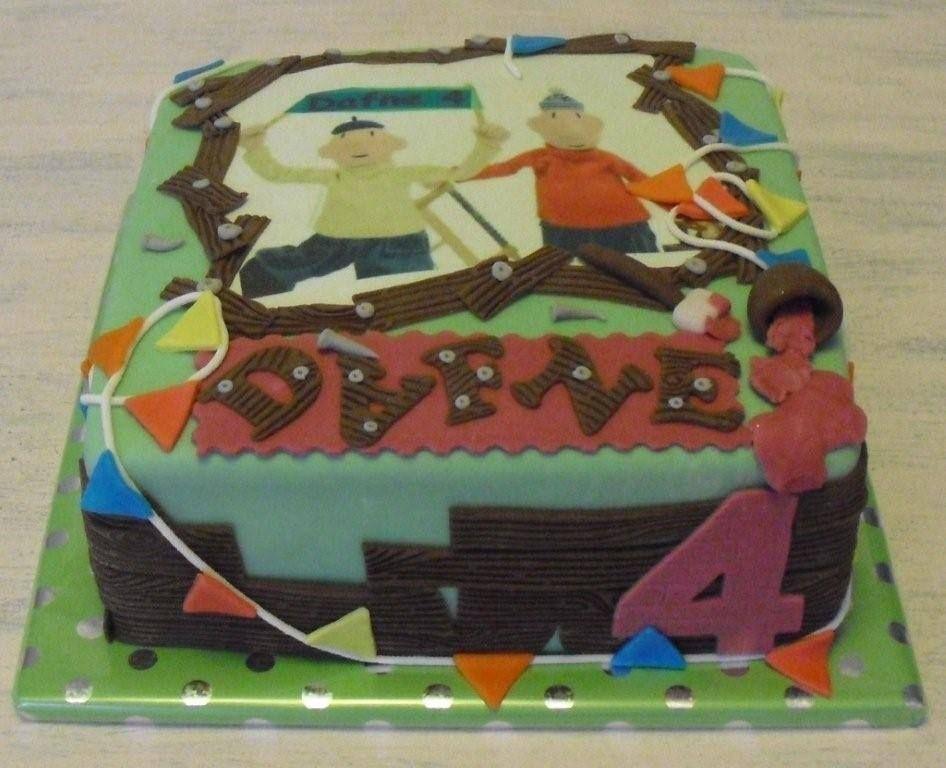 Birthday Cake Theme Buurman Buurman Two Famous Dutch Cartoon