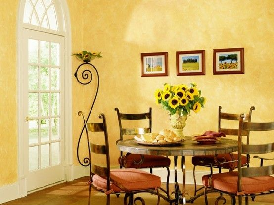 Tuscan Color Palette Love The Walls And Colors One Day Home