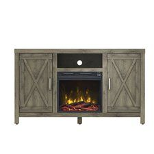 Charmant Dodson TV Stand With Electric Fireplace