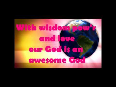 Letter Of The Week A Our God Is An Awesome God Kids Worship