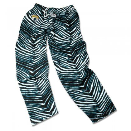 Outdo Every Other Jacksonville Fan Out There With These Fun Zubaz Pants They Feature Zebra Print Jaguars Colors With Zebra Pant Jacksonville Jaguars Jaguars