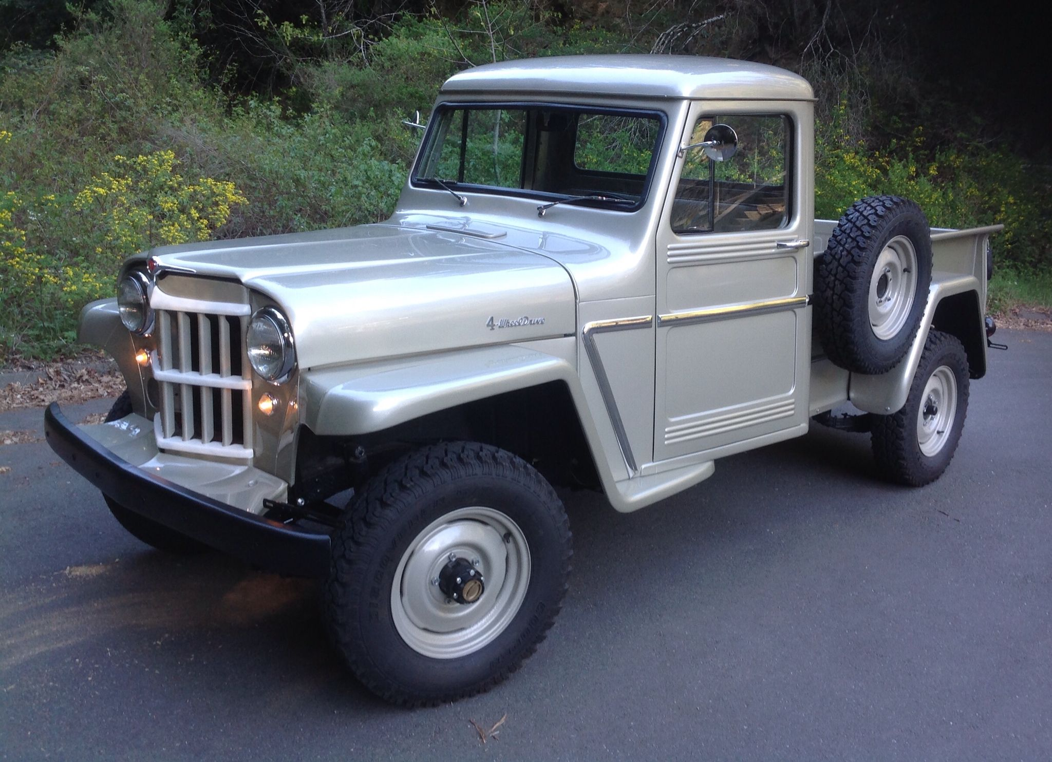 1962 Willys Truck L-6 226 Willys America Restorations   WILLYS ...