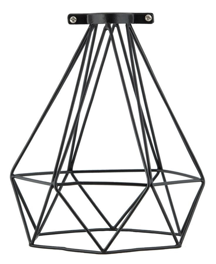 Geometric Metal Light Shade $40 www.collected.co.nz: Wire ...