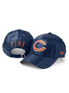 Chicago Bears Sequin Hat. I want it.  b77355eb5