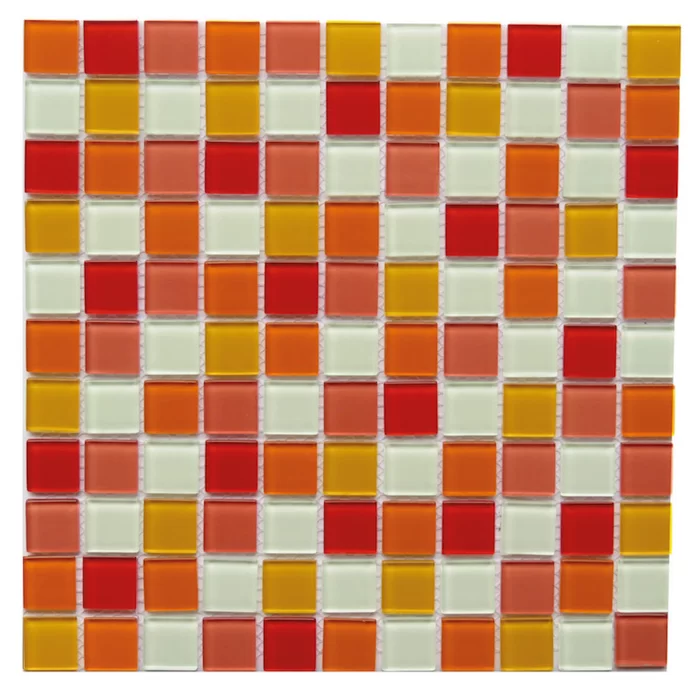 Pizzoli 1 X 1 Glass Mosaic Floor Wall Tile In 2020 Mosaic Flooring Mosaic Tiles Mosaic