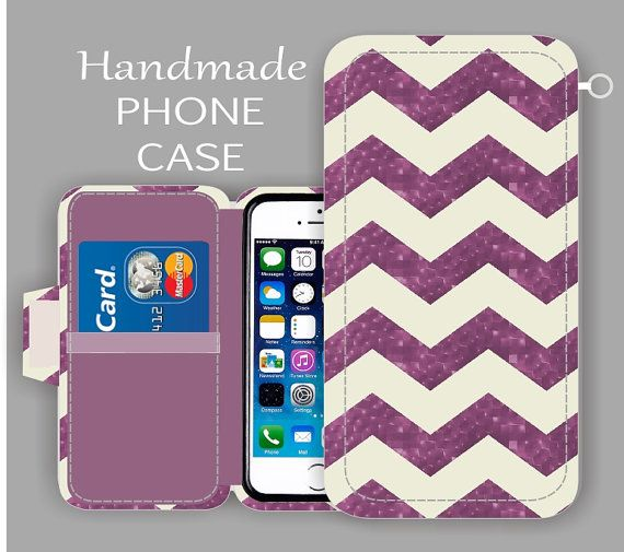 Purple Chevron Galaxy S7 edge iPhone Case by superpowerscases