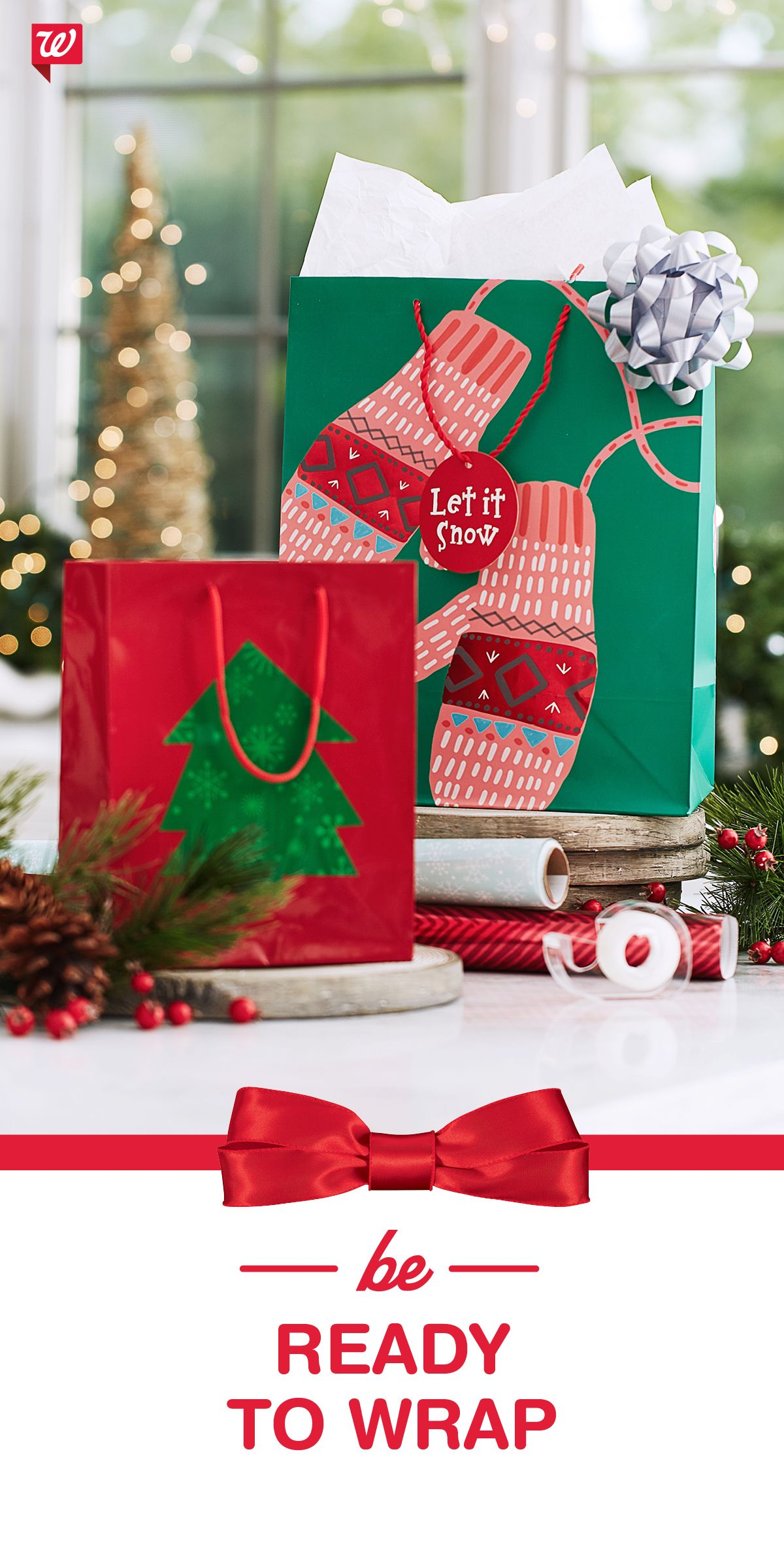 So many gifts, not enough wrap? Stop in for Hallmark wrap, gift bags ...