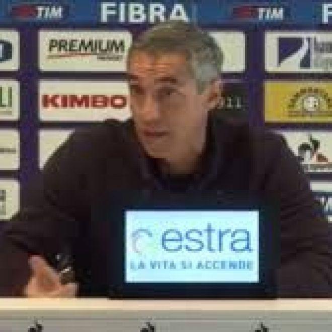 Fiorentina Sousa soddisfatto della squadra ma non vanno oltre al pareggio