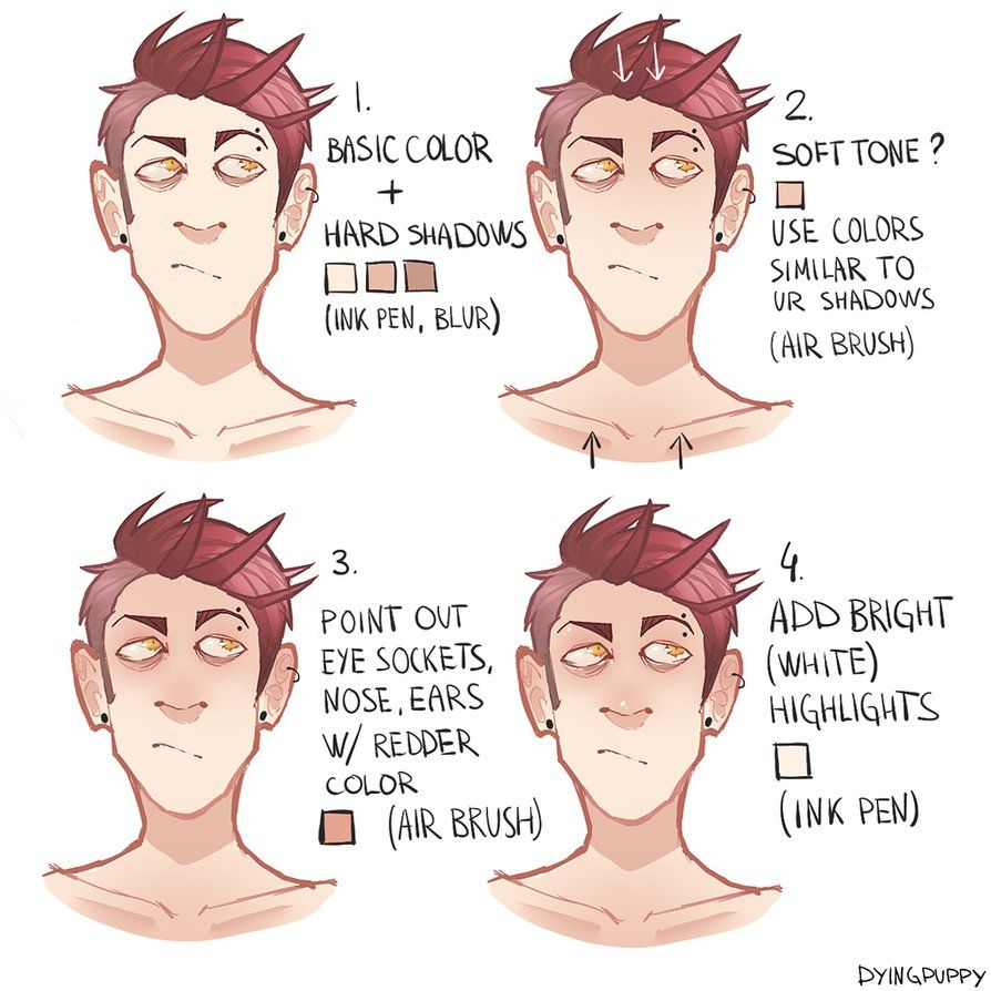 Skin coloring tutorial by dyingpup on DeviantArt | Tutorial ...