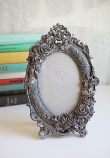 Love the victorian chabby chic feel of this frame | for home ...