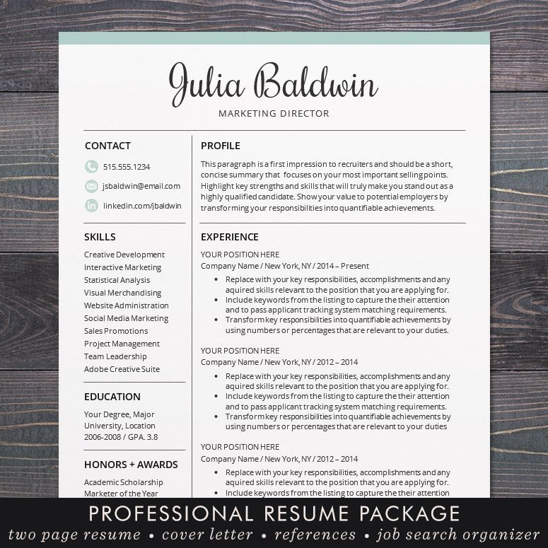 Professional Resume \/ CV Template Mac Or By TheShineDesignStudio   Free Resume  Template Mac  Resume Template For Mac