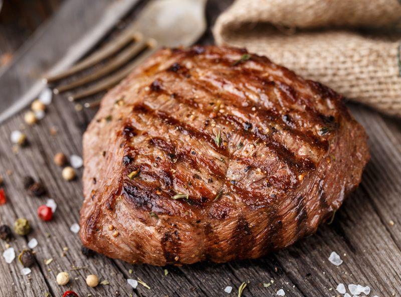 Le travail de coup national et le jour de steak