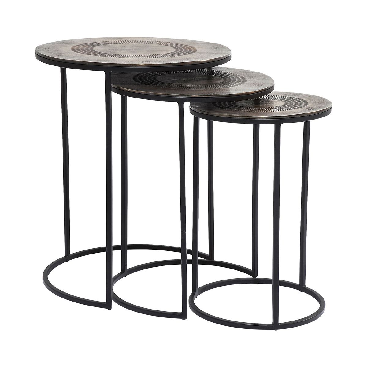 KARE Design Marrakesh Side Table 3Set 80270 Coffee Side