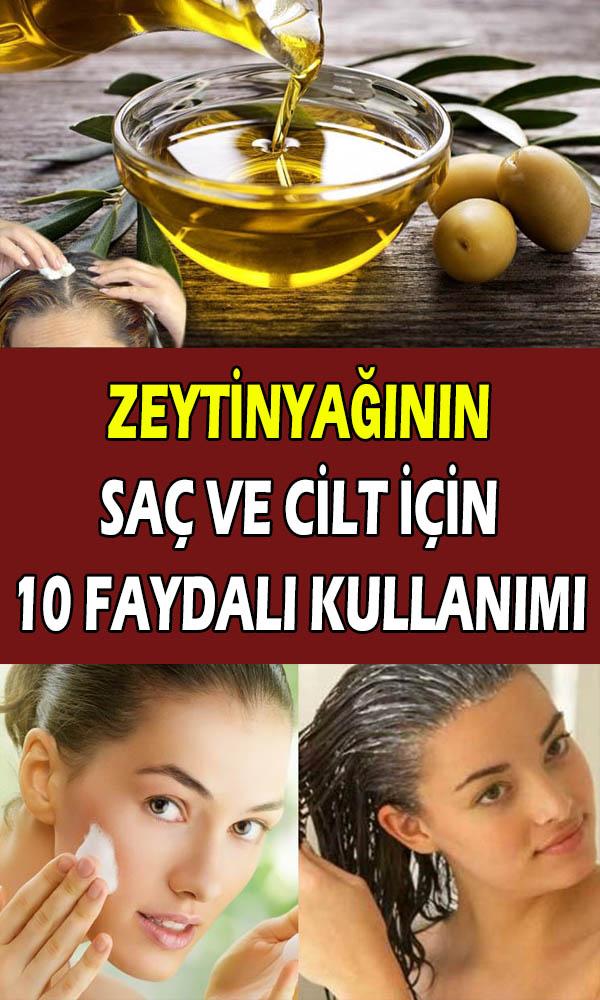 Zeytinyaginin Sac Ve Cilt Bakimi Icin 10 Faydali Kullanimi