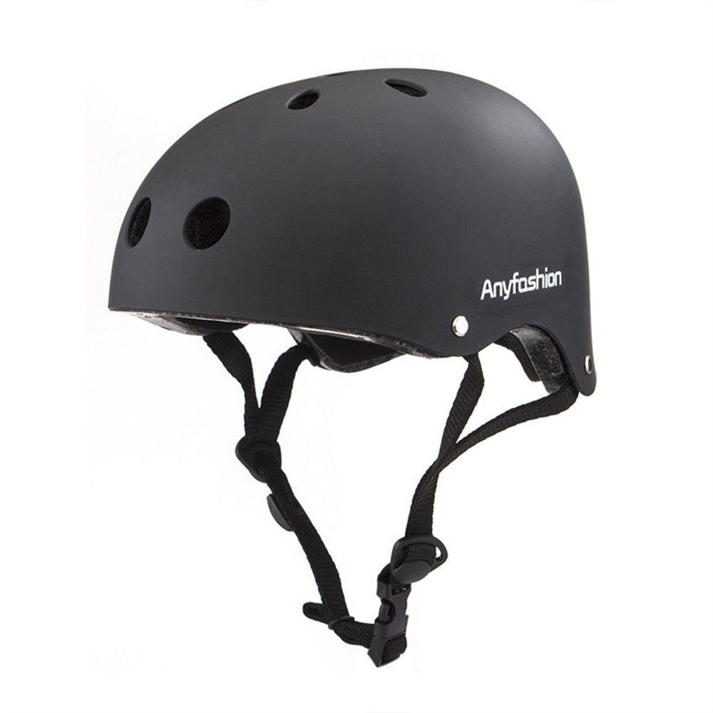 Anyfashion Round Mountain Bike Helmet Men Sport Accessories