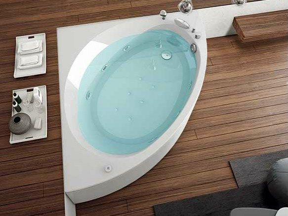 Vasca Da Bagno Nova : Corner whirlpool bathtub nova nova collection by hafro my bath