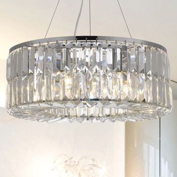 Lighting by pecaso moderno chandelier in chrome available in 18 lighting by pecaso moderno chandelier in chrome available in 24 36 in mozeypictures Image collections