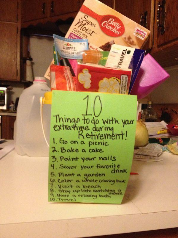 972c34343485921e896c5993d266de4d Jpg 600 800 Pixels Retirement Gift Basket Retirement Gifts Teacher Retirement Gifts