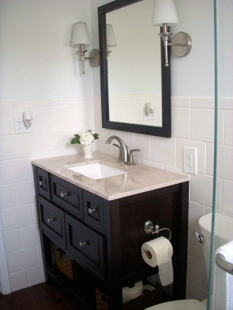 Design Tips To Create A Small Restroom Much Better Home Depot Bathroom Home Depot Vanity Home Depot Bathroom Vanity