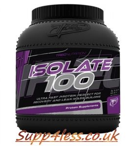 Trec Whey Protein Isolate 100 1800g Best Quality Supp4less Whey Protein Whey Protein Isolate The 100