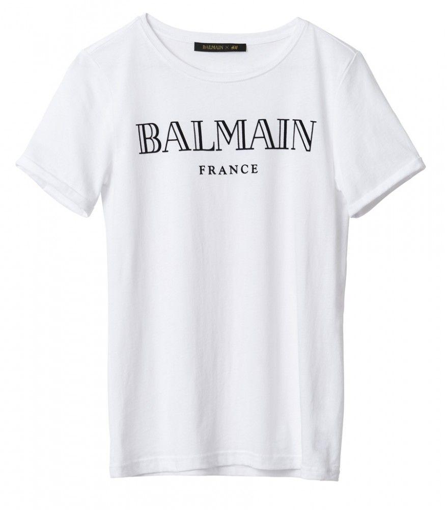 H M + Balmain t-shirt  0d596614e9e93