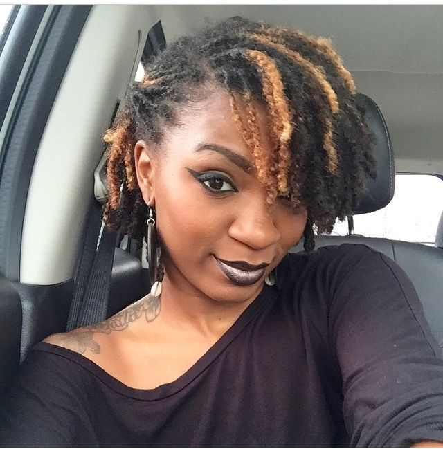 I Could Wear My Locs Like This Minus The Makeup Short