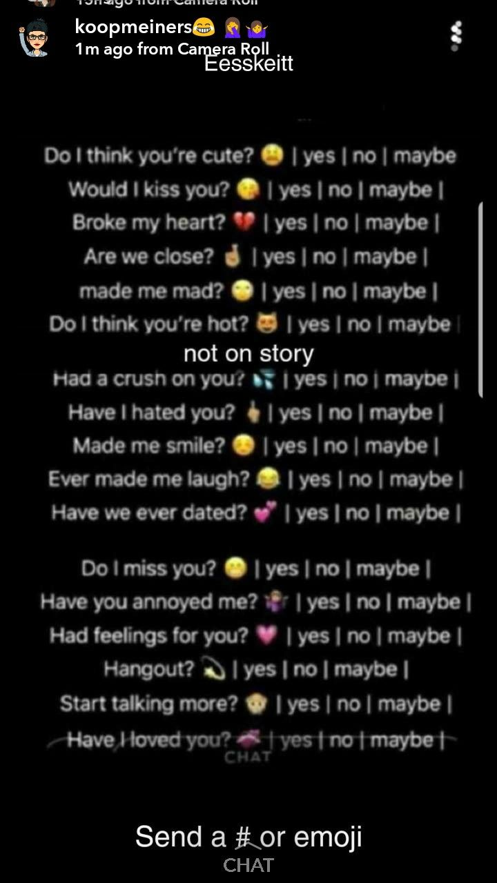29+ Yes or no questions game boyfriend inspiration