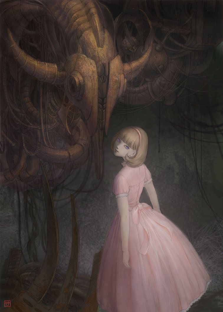 Pink Dress by TaKe-bamboo on DeviantArt