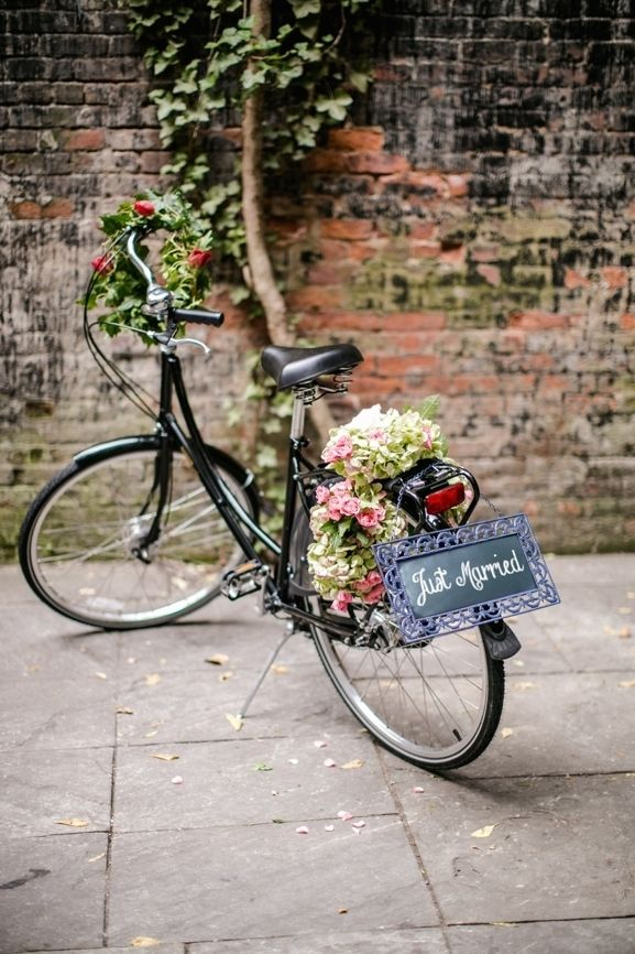 Wedding Flower Bicycle Bicycle Wedding Bike Wedding Wedding Photo Props