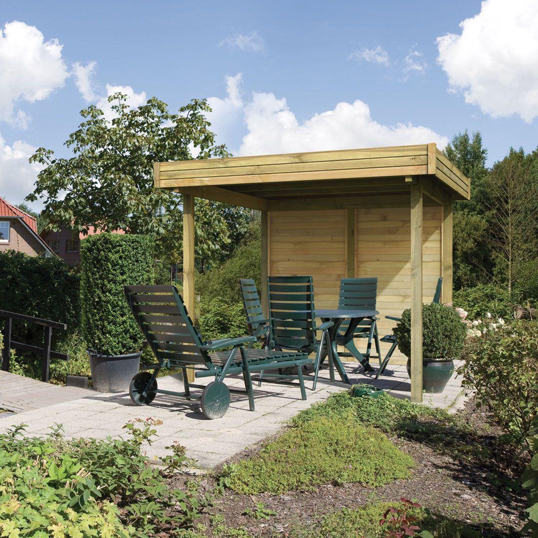 Pavillon Toit Plat 5 95m Toit Plat Pavillon Et Abris De Jardin # Abris De Jardin Bilbao