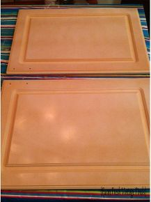 Thermofoil Kitchen Cabinets in French Linen Part 1 ...