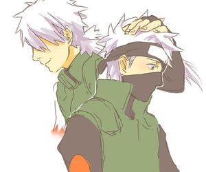 Kakashi Lineart : Kakashi and his dad naruto u c