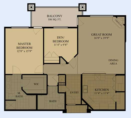 Luxury condo floor plans floor plans dream home tiny for 2 bedroom 2 bath condo floor plans