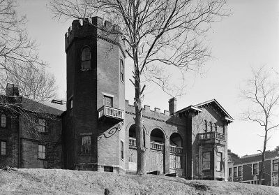 Bowman's Castle or Nemacolin Castle in Brownsville  19 Beautiful Famous Castles in Pennsylvania